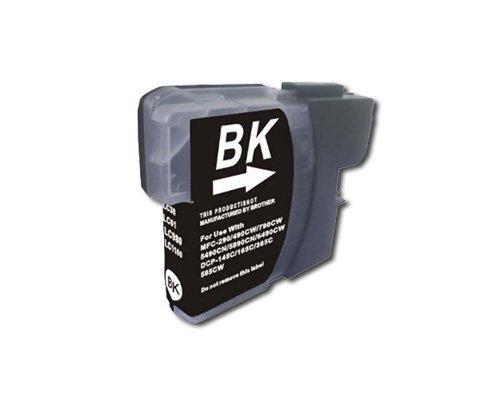 10 Druckerpatronen Black kompatibel für Brother LC980 DCP 195C