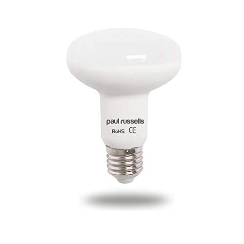 Paquete de 3 bombillas LED reflectoras de 12 W E27 ES de rosca Edison grande Paul Russells brillante 12 W = 100 W foco R80 foco 120 haz lámpara 4000 K blanco frío 100 W incandescente de repuesto