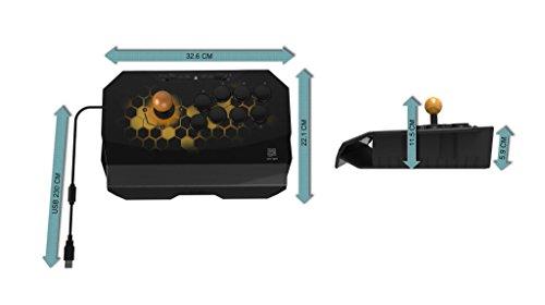 QanbaDroneクァンバドローンアーケードジョイスティック(PlayStation(R)4/PlayStation(R)3/PC)本格的なアケコンと同じ30mmボタン8個標準レイアウト採用場所をとらない軽量コンパクトモデル