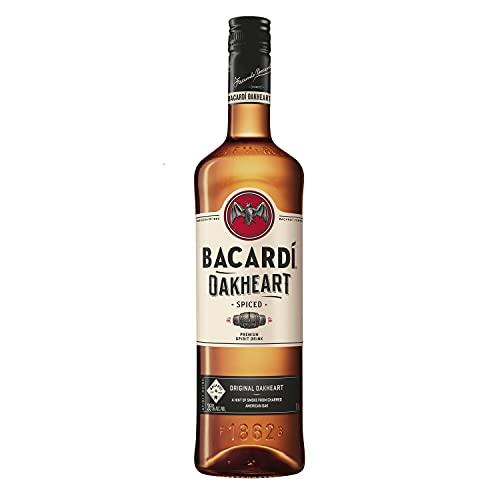 Bacardi Oakheart, Rhum Epicé, 70cl, 35%