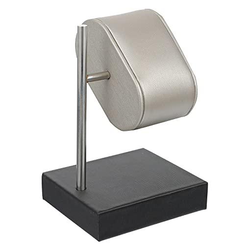 ibasenice Mostrador Do Relógio Stand- Vertical Leather Assista Display Stand Stand/Homens E Mulheres Assistir Stand/Armazenamento de Jóias De Couro Rack/Colar de Jóias Pulseira De