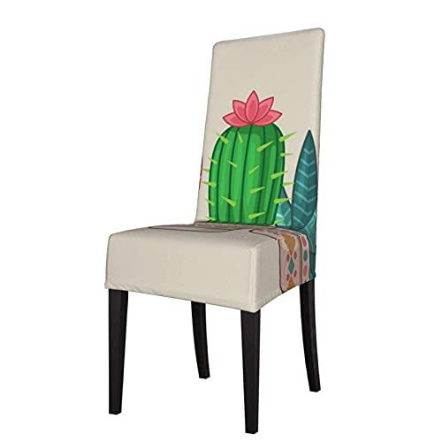 Fundas para sillas Cactus Strech Fundas para sillas Funda Lavable para Silla Funda para Asiento elástica para sillas