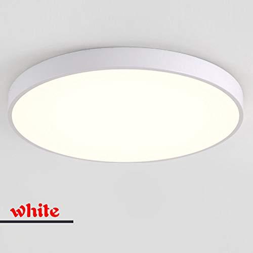 WFSDKN Plafondlamp, ultradunne led-plafondlamp, woonkamerverlichting, afstandsbediening, eenvoudige moderne slaapkamerlamp, restaurant, thuis, balkonverlichting
