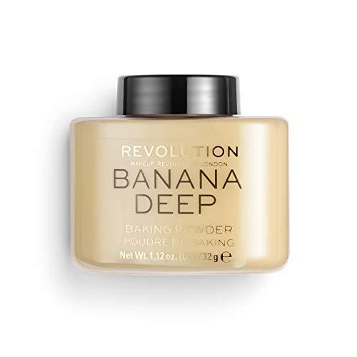 Makeup Revolution Loose Baking Powder, Banana...
