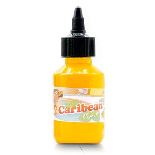TheCrazyBaits Fluo BAITSMOKE 360 -CaribeanResort Original- ¡Receta 2021!. 4x4 All Seasons. Super eficaz para CarpFishing (Pesca de Carpas).