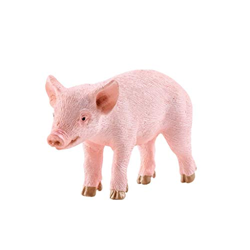SCHLEICH Farm World Piglet Standing Educational Figurine for Kids Ages 3-8