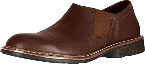 NAOT Director Toffee Brown Leather 42 (US Men