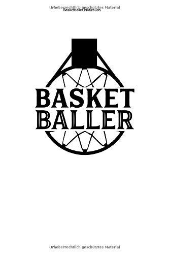 Basketballer Notizbuch: 100 Seiten | Punkteraster | Netz Mannschaft Trainer Geschenk Wurf Korb Basket Ball Team Fan Training Spiel