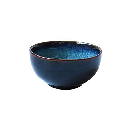 XIAOZHUZHU Keramische kom, Japanse Stijl Dinnerware Soep Noodle Ramen Bowl Pasta Rijstkom Saus Fruit Salade Schaal