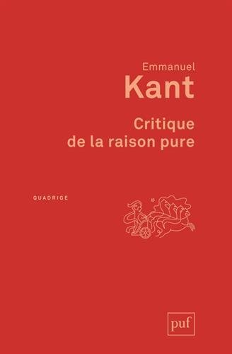 critique de la raison pure (8ed) by Kant Emmanuel(1905-07-04)