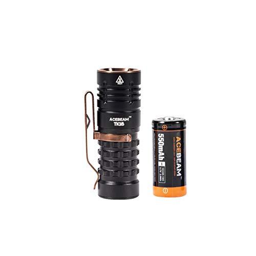 Preisvergleich Produktbild ACEBEAM TK16 Mini Taschenlampe,  superhell,  1300 Lumen,  OSRAM LED Long Throw 338 Meter EDC Taschenlampen,  Aluminium