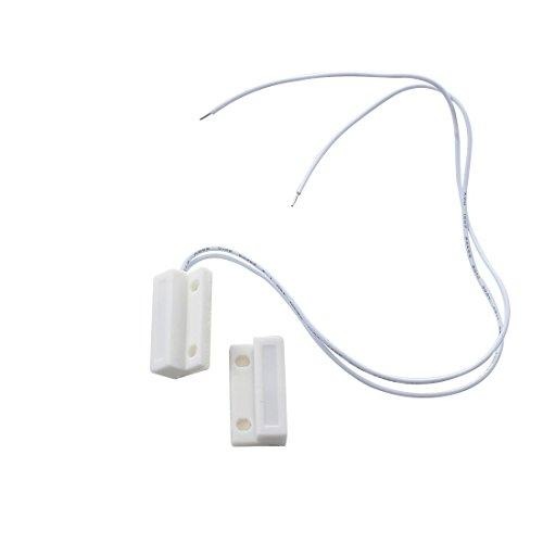 SODIAL(R) Interruttori allarme Porta Armadi Finestra magnetico del contatto SMD