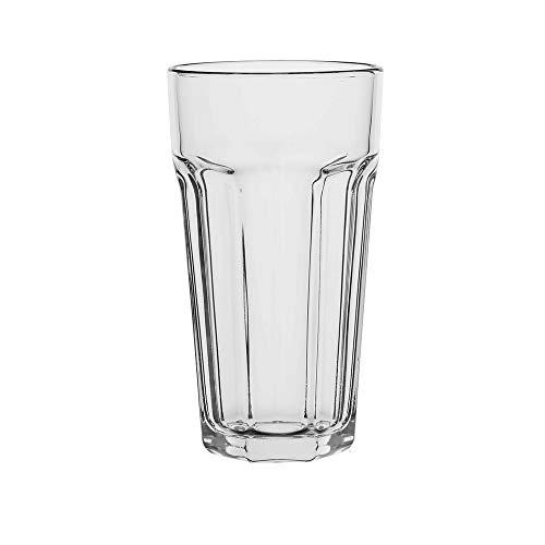 AmazonCommercial Allzweck-Trinkglas, 656ml, 6-teiliges Set
