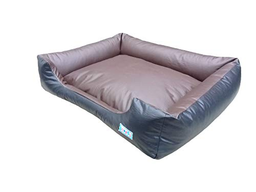 Caminha Pet Dog Bed G Black with Brown Lopsol