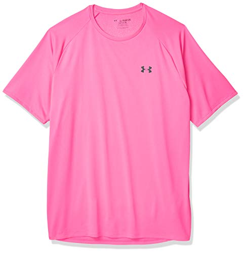 Under Armour Herren T-Shirt UA Tech 2.0 T-Shirt, kurzärmlig, Pink, XL, 77-1326413