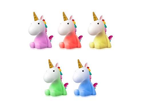 Sweet Ponies LED Nachtlicht Einhorn - verschiedene Farben