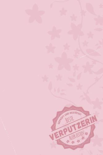 Geprüft und Bestätigt beste Verputzerin aller Zeiten: Notizbuch inkl. To Do Liste | Das perfekte Geschenk für Frauen, die Verputzen können | Geschenkidee | Geschenke