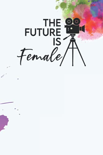 The Future is Female Dot Grid Journal