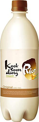 Kooksoondang Makgeolli Original, 6% Vol - 12 Paquetes de 750 ml - Total: 9000 ml