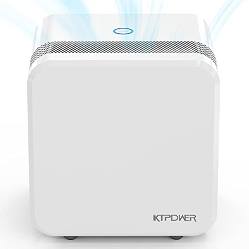 KTPDWER Dehumidifiers for Bedroom 2500 Cubic Feet (280 sq ft), 35oz Dehumidifiers with Two Working Mode, Portable and Quiet Dehumidifier for Home, Bathroom, Kitchen, RV