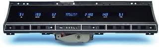 Dakota Digital Dash VFD3X-69C-IMP-Z Compatible with 1969 70 Chevy Impala Caprice 6 Gauge Instrument System
