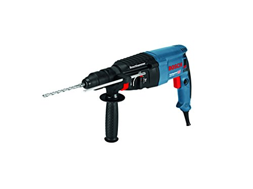 Bosch Professional Rotary Hammer GBH 2-26 F (230 V, SDS-Plus, 830 W, 2,7 J, Including Auxiliary Handle, Quick Change Chuck, Depth Stop, SDS Plus Quick-Change Chuck, Carrying Case )