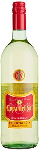 Copa del Sol Vino Blanco Fruchtig-Süß Weißwein (1 x 1 l)