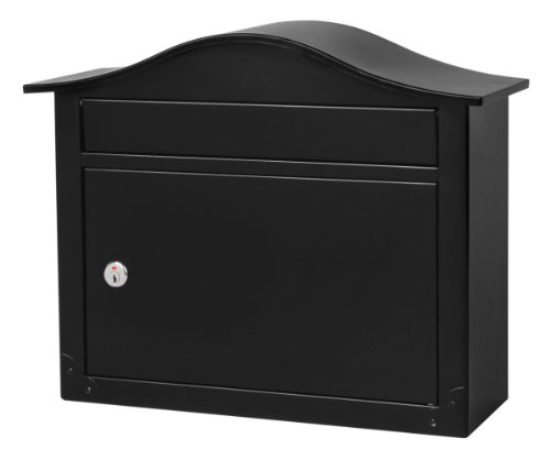 Saratoga Locking Wall Mount Mailbox, Letterbox, Postbox,...