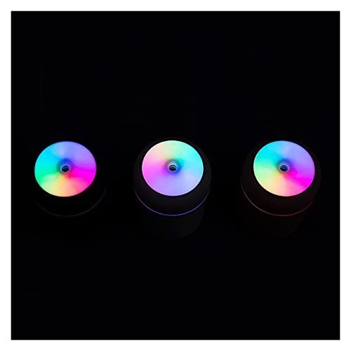 Humidificador 300 ml CUP DE COLOR USB Humidificador de aire ultrasónico Aroma Difusor de la niebla de la niebla con 7 colores Luces Mini purificador de aire de...