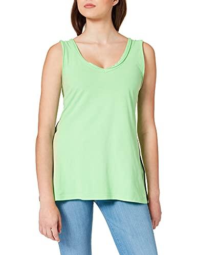 REPLAY W3527 .000.22536G Camiseta, 818 Green Fluo, XS para Mujer