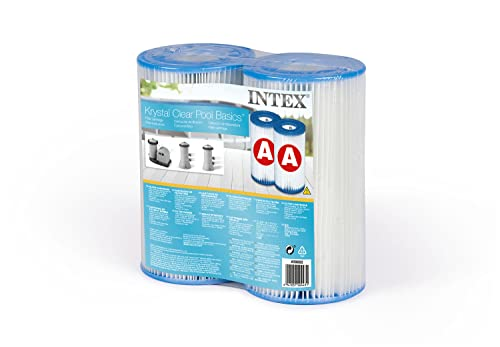 Intex 29002 - Cartucho para filtros para piscinas, 2 unidades