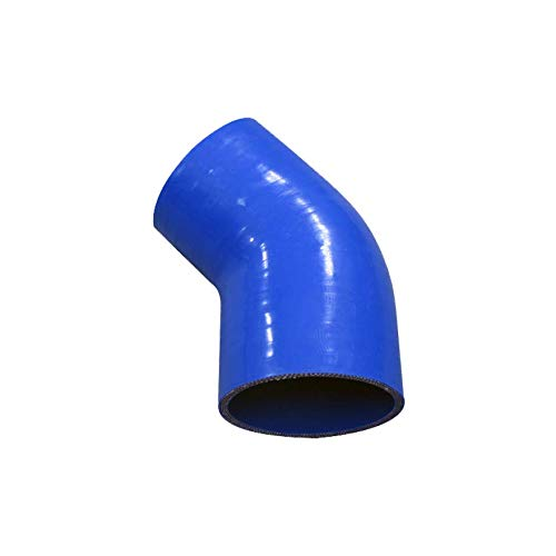 45 degree Silicone reduzierer Angle Rubber Coolant Intercooler Radiator