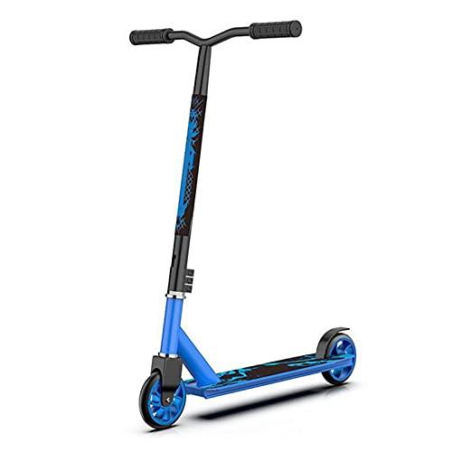 HTRTH Adolescente/Niño/Profesional DE Adulto Scooter Deportivo Extremo 821 (Color : Blue)