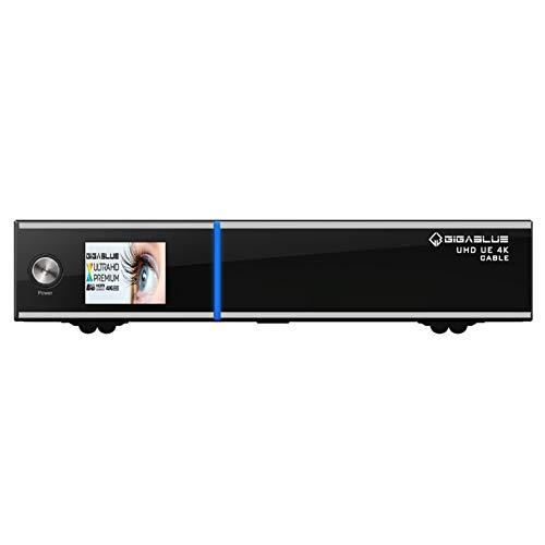 GigaBlue UHD UE 4K Cable 1x DVB-C/C2 FBC & DVB-S2x E2 Linux Receiver