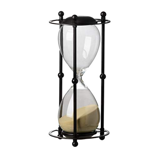 A&B Home Hour Glass in Stand, 1 Hour, Tan, 6.2 by 12.5-Inch