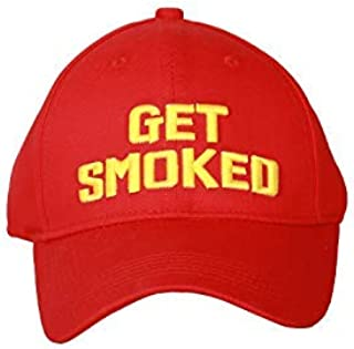 XCOSER Shinya Oda Hat Get Smoked Red Baseball Cap Cosplay Accessory