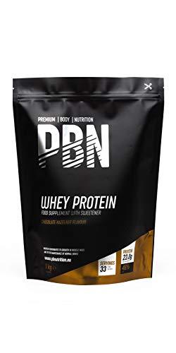 Premium Body Nutrition Whey Protein Powder 1kg Chocolate Hazelnut