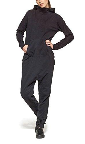 Onepiece Damen Jumpsuit Dodge, Grau (Black) - 5