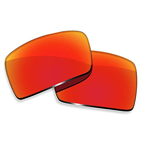 ToughAsNails Reemplazo de lente polarizada para Oakley Eyepatch 2 OO9136 Sunglass - Más opciones, Naranja Fuego, Talla única