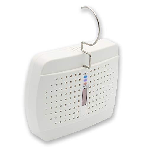 Deumidificatore d'aria elettrico ricaricabile - Assorbitore di umidità con cristalli gel - Contro l'umidità e la muffa - Per armadio, guardaroba, armadietto, ufficio o locale piccolo