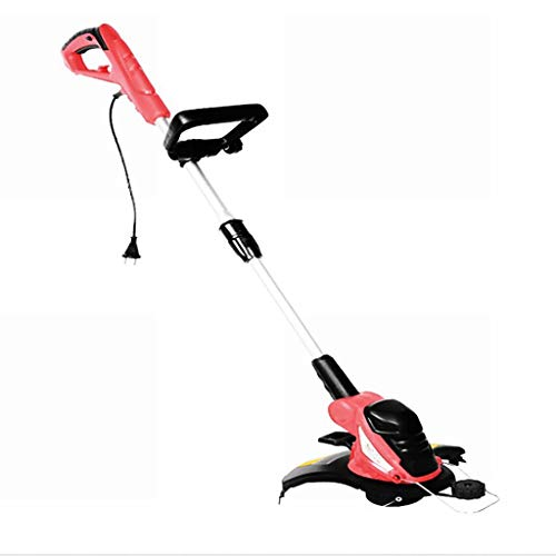 GOFEY° - Cortacésped eléctrico multifunción de alto rendimiento 550 W con zapatillas de baloncesto con mango ajustable, aptas para el corte, el terrorismo, el jardín