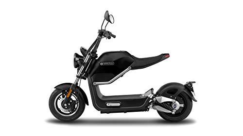 OhmBike Marktneuheit High Tech E Roller - Elektro Roller mit einem 800W starkem Bosch Motor - Miku Max abnehmbare Akku 60V 20AH Litium Ion (Schwarz)