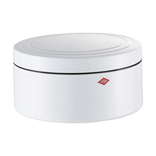 WESCO (ウェスコ) 容器 ホワイト 4L ビスケットボックス ペーパーナプキン付 324402F-01