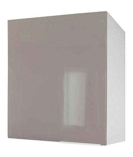 Berlenus CP6HT - Mobile Alto da Cucina con un'anta, 60 x 34 x 70 cm, Colore: Tortora