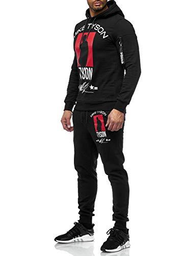 Code47 Chándal para hombre, de boxeo, de camuflaje Negro L