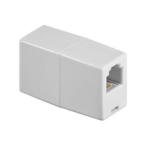 Goobay 93052 Telefon Adapter - RJ11/RJ14-Buchse (6P4C) > RJ11/RJ14-Buchse (6P4C)
