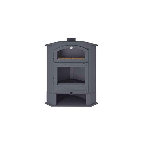 Estufa de leña de rincón con horno. Modelo CH-4 R