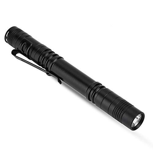 PUSOKEI Linterna de Mano con luz de bolígrafo, Mini Linterna LED Luz de Flash portátil Linterna LED Ultra Brillante, para Acampar, al Aire Libre, Emergencia, linternas de Uso Diario, 5.24 Pulgadas