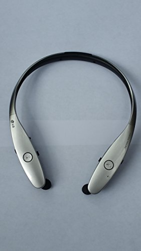 LG Tone Infinim HBS-900 Wireless Stereo Headset, Silver - Retail Packaging