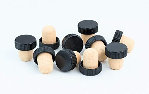 HUGBERT Weinkorken, Flaschenkorken, BAR Stopfen Verschluss, Wein Kork, Korken, 27x18,5 mm, 50 Stück